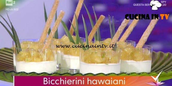Detto Fatto - ricetta Bicchierini hawaiani di Alessandro Servida