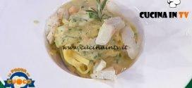 La Prova del Cuoco - ricetta Fettuccine con crema di ceci e baccalà di Anna Maria Palma