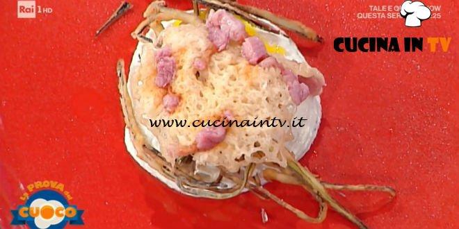 La Prova del Cuoco - ricetta Nido di melanzane con uova e pancetta di Fabio Tacchella