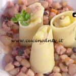 La Prova del Cuoco - ricetta Paccheri polpo e patate prezzemolate di Antonella Coppola