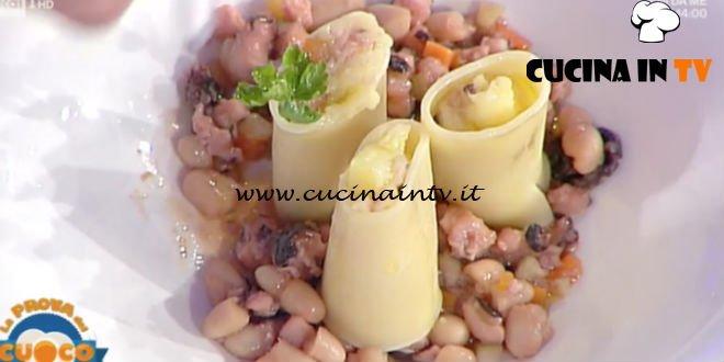 La Prova del Cuoco | Paccheri polpo e patate prezzemolate ricetta Antonella Coppola