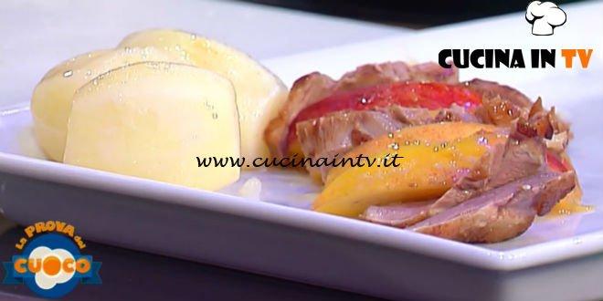 La Prova del Cuoco | Petto d'anatra con pesche e vino rosè ricetta Guerrino Maculan