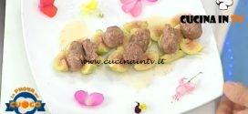 La Prova del Cuoco - ricetta Polpette su letto di fichi caramellati di Beppe Sardi