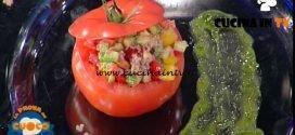 La Prova del Cuoco - ricetta Pomodori ripieni di carne e bagna cauda di Beppe Sardi
