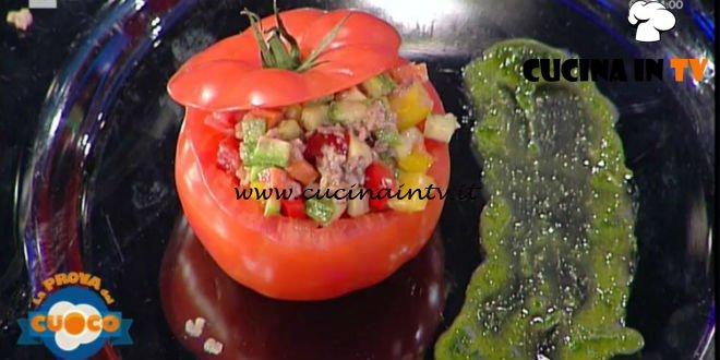 La Prova del Cuoco | Pomodori ripieni di carne e bagna cauda ricetta Beppe Sardi