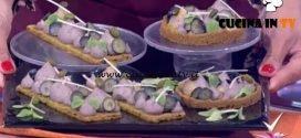 Detto Fatto | Tortine azuki con frolla al pistacchio ricetta Domenico Spadafora