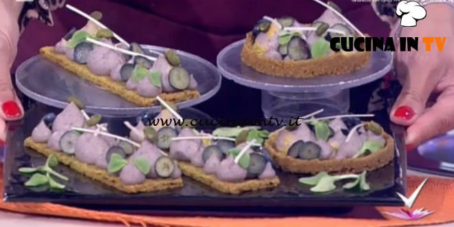 Detto Fatto - ricetta Tortine azuki con frolla al pistacchio di Domenico Spadafora