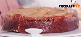 Bake Off Italia 6 - ricetta Upside Down Cake alla banana di Clelia D'Onofrio