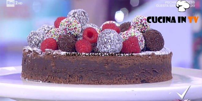 Detto Fatto - ricetta Brownie effetto wow di Alessandro Capotosti