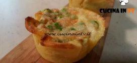 Cotto e mangiato - Cestini ripieni di verdure ricetta Tessa Gelisio