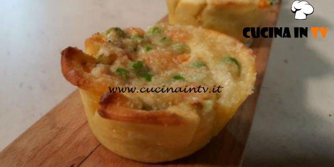 Cotto e Mangiato | Cestini ripieni di verdure ricetta Tessa Gelisio