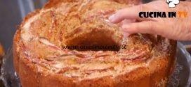 Ricette all'italiana - ricetta Ciambellone soffice alle mele e crema inglese di Anna Moroni