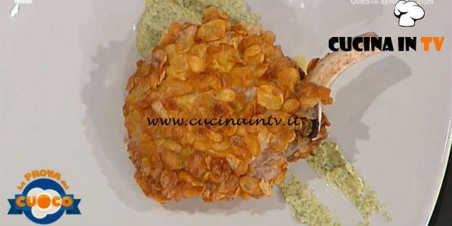 La Prova del Cuoco | Costolette di maiale in fiocchi di mais su scapece allo yogurt ricetta Antonio Paolino