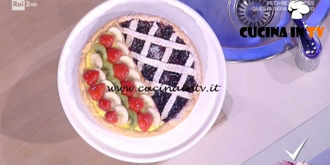 Detto Fatto - ricetta Crostata ai due gusti di nonna Giustina