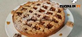 Cotto e mangiato - Crostata di fichi e noci ricetta Tessa Gelisio