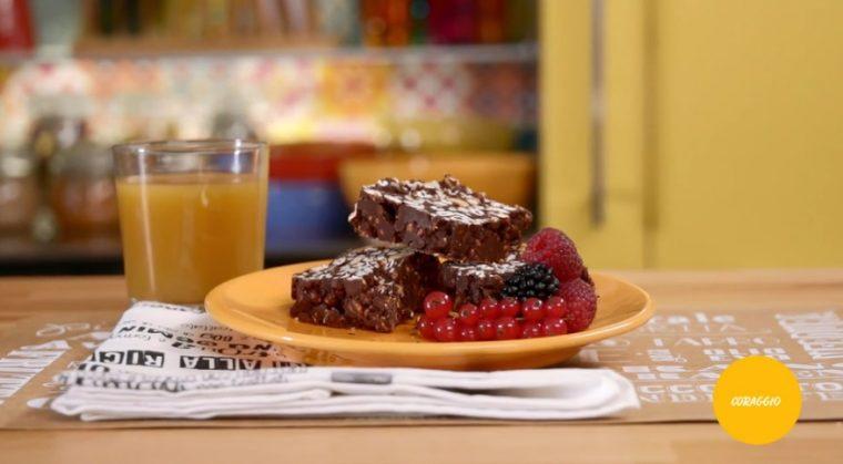 La mia cucina delle emozioni - ricetta Farro soffiato con nocciole e cioccolato di Marco Bianchi
