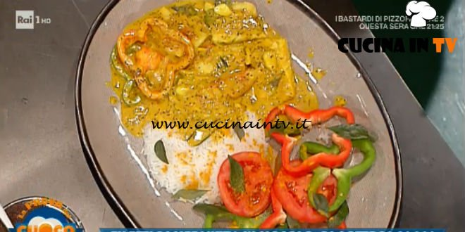 La Prova del Cuoco | Filetti di merluzzo in masala al latte di cocco ricetta Gabriele Faggionato