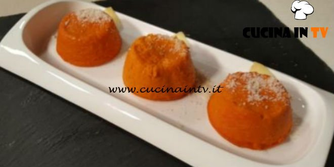 Cotto e Mangiato | Flan di carote e zenzero ricetta Tessa Gelisio