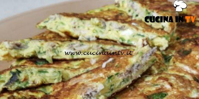Cotto e mangiato - Frittata zucchine e alici ricetta Tessa Gelisio