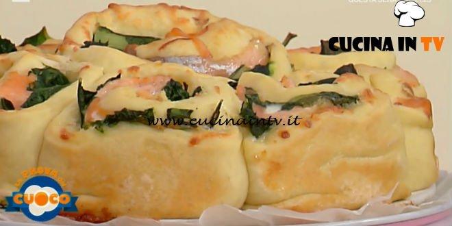 La Prova del Cuoco | Girelle al salmone con bieta e scamorza affumicata ricetta Anna Maria Palma