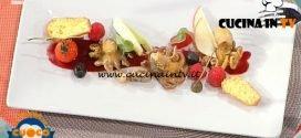 La Prova del Cuoco - ricetta Insalata esotica di polpo ai profumi d'autunno di Pasquale Rinaldo