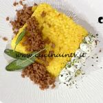 La Prova del Cuoco - ricetta Milanese al salto caprino alle erbe e luganega croccante di Riccardo Carnevali