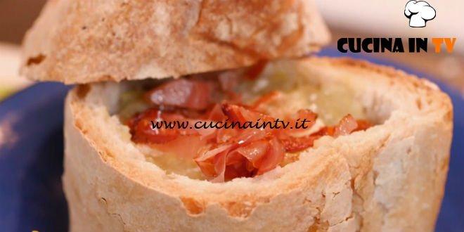 Ricette all'italiana | Minestra di porro patate e speck ricetta Anna Moroni
