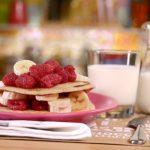 La mia cucina delle emozioni - ricetta Pancake con banana e lamponi di Marco Bianchi