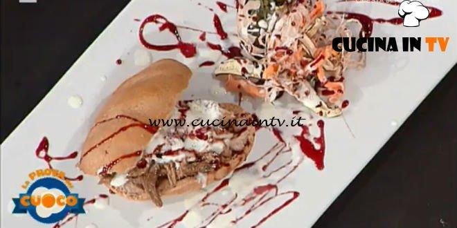 La Prova del Cuoco - ricetta Panini al vino rosso con sfilacci di stracotto di Alessandro Dentone