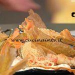 La Prova del Cuoco - ricetta Paranza di triglie e gamberoni con polenta croccante di Ivan Giavarini