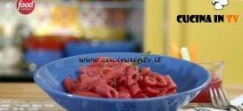 La mia cucina delle emozioni - ricetta Pasta alla barbabietola di Marco Bianchi