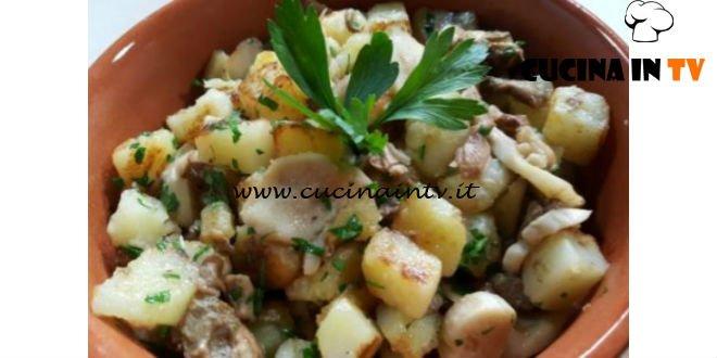 Cotto e mangiato - Patate saltate con funghi porcini ricetta Tessa Gelisio