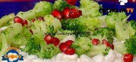 La Prova del Cuoco - ricetta Perle di patate con salsa al formaggio broccoli e melagrana di Fabio Campoli