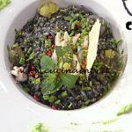 La Prova del Cuoco - ricetta Riso nero con seppie al vino e pepe rosa di Stefano Marinucci