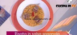 Detto Fatto - ricetta Risotto in salsa spagnola di Daniele Persegani