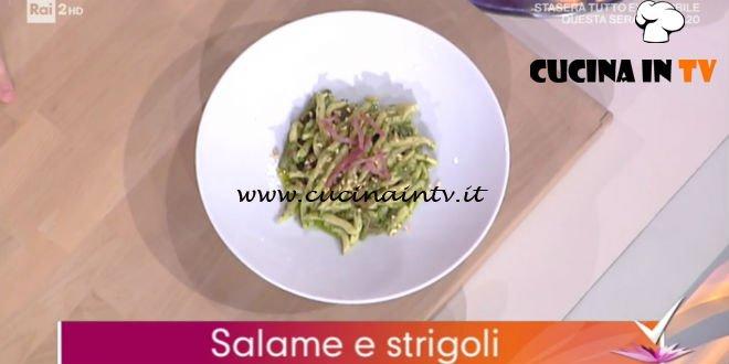 Detto Fatto - ricetta Salame e strigoli di Beniamino Baleotti