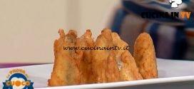 La Prova del Cuoco - ricetta Sarda alla beccafico in pastella con riduzione di arancia di Antonella Coppola