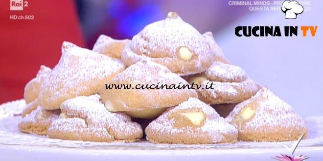 Detto Fatto - ricetta Sospiri alla crema di nonna Giustina