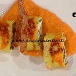 La Prova del Cuoco - ricetta Spirali di cannelloni con salsa di peperoni arrostiti di Riccardo Carnevali