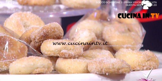 Detto Fatto - ricetta Taralli dolci di nonna Giustina