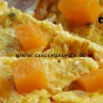 Cotto e mangiato - Torta salata con zucca e pancetta ricetta Tessa Gelisio