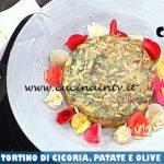 La Prova del Cuoco - ricetta Tortino di cicoria patate e olive taggiasche e maionese senza uova di Daniele Paralovo