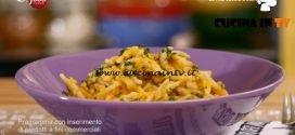 La mia cucina delle emozioni - ricetta Trofie con zucca e carote di Marco Bianchi