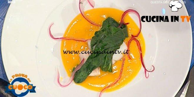 La Prova del Cuoco | Baccalà al vapore in salsa di zucca e zenzero ricetta Moreno Cedroni