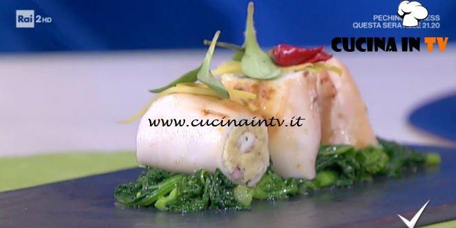 Detto Fatto - ricetta Calamari ripieni di Ilario Vinciguerra