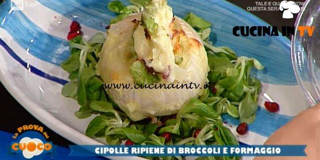 La Prova del Cuoco | Cipolle ripiene di broccoli e formaggio ricetta Diego Bongiovanni