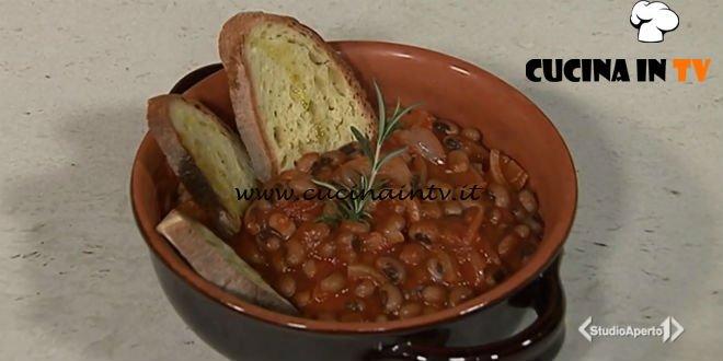 Cotto e mangiato - Cotiche con fagioli dall'occhio ricetta Tessa Gelisio
