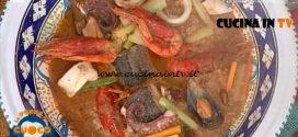 La Prova del Cuoco - ricetta Cous cous di pesce di Natale Giunta