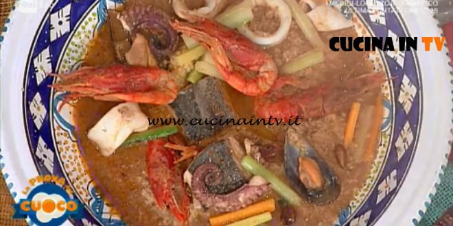 La Prova del Cuoco | Cous cous di pesce ricetta Natale Giunta