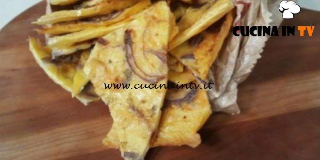 Cotto e Mangiato | Farinata con cipolla e origano ricetta Tessa Gelisio